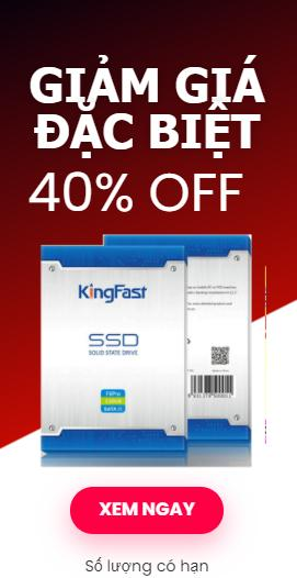 SSD Kingfast sale off